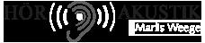 Hörakustik Marlis Weege Logo