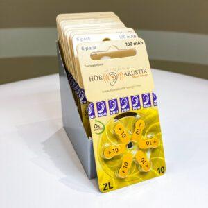 10er Batterien (Gelb)